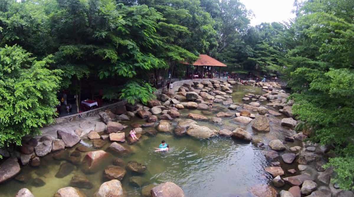 Khu du lịch Thủy Châu gần Sài Gòn