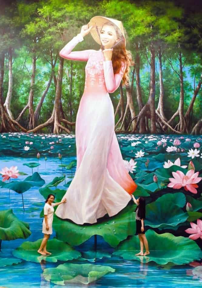 Bức tranh chiêm ngưỡng thiên nhiên hùng vĩ của Việt Nam