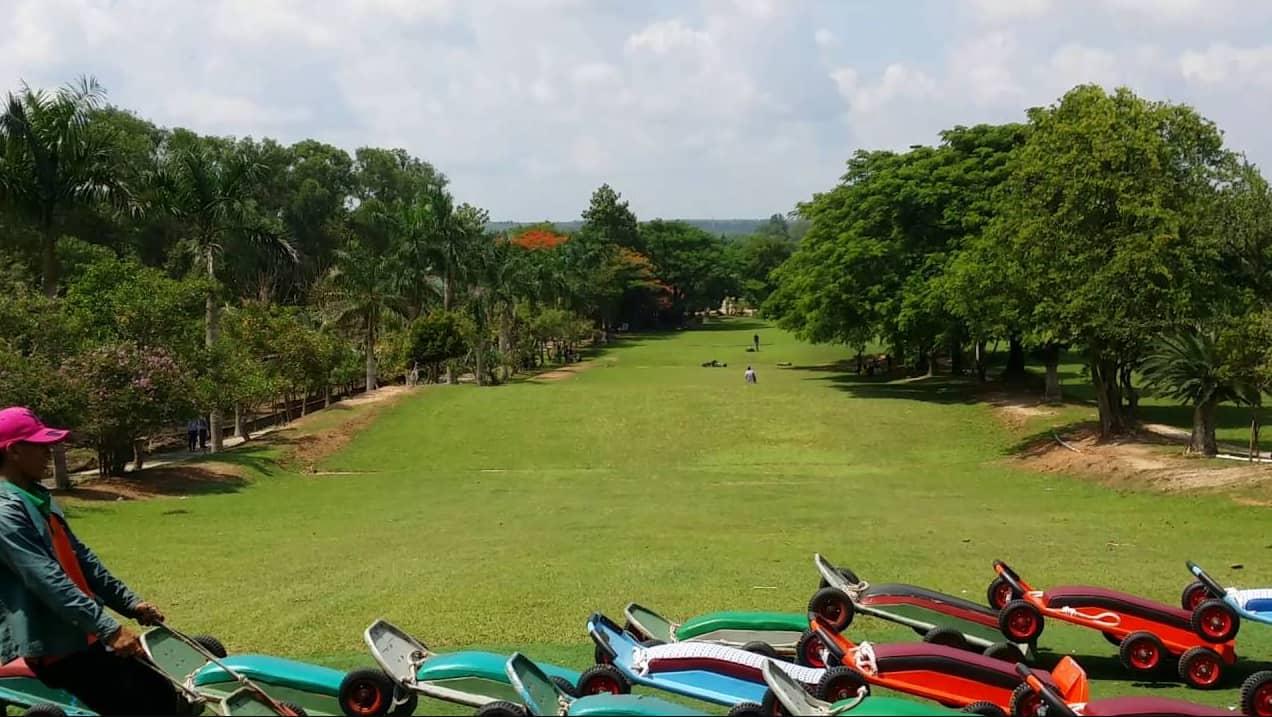 Khu du lịch Vườn Xoài thuộc xã Phước Tân gần Sài Gòn