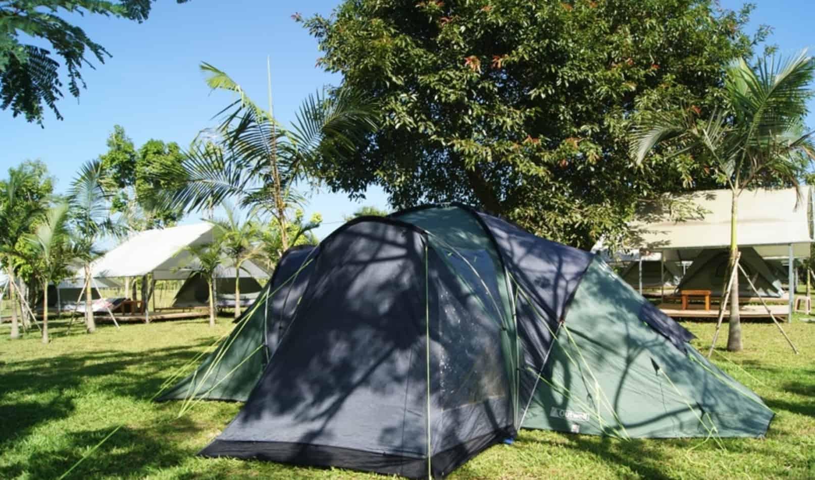Cắm trại cùng gia đình và bạn bè