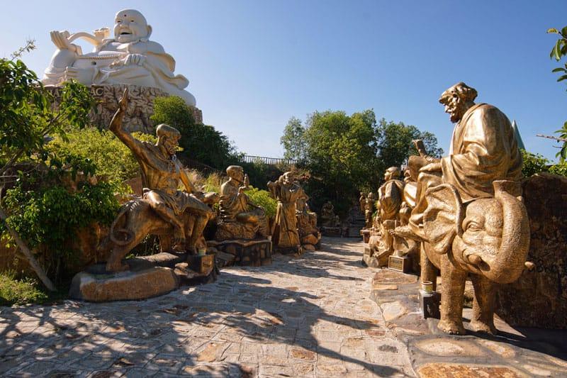 Hình ảnh 18 vị La Hán (Ảnh: Sưu tầm)