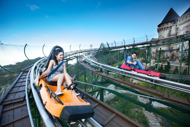 Khu vui chơi giải trí Fantasy Park - tàu siêu tốc