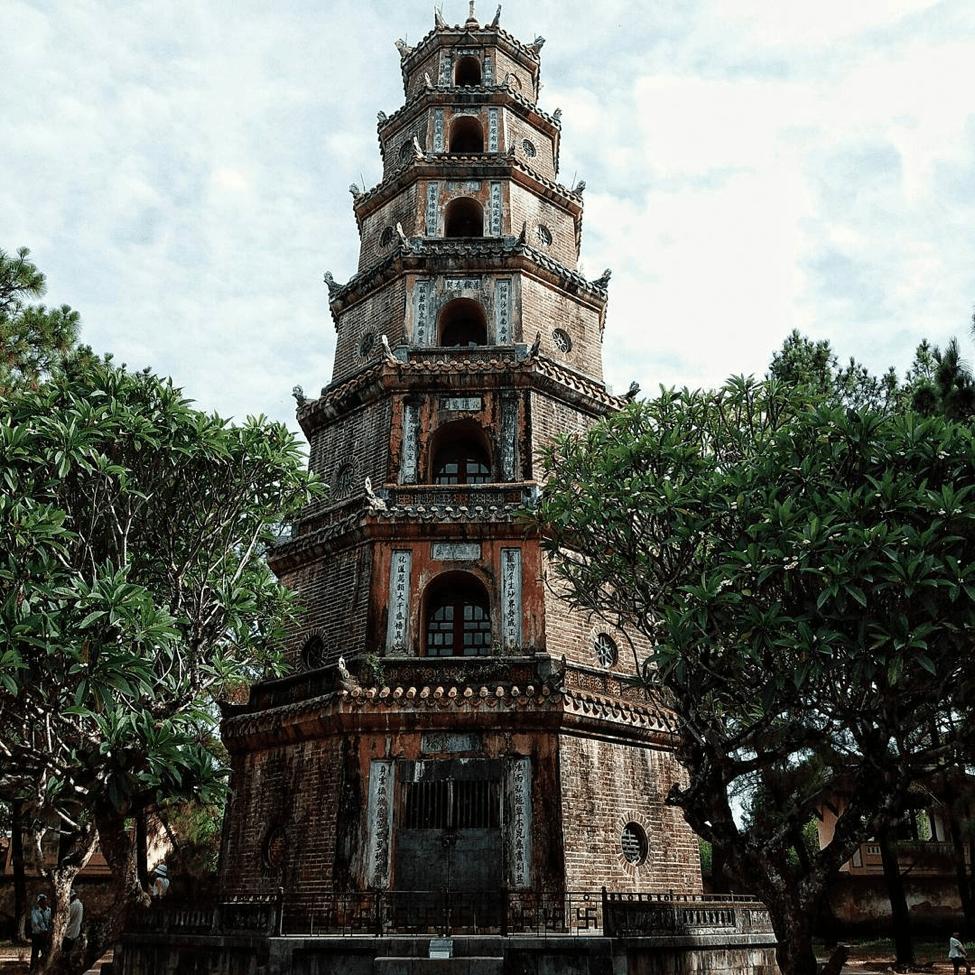 Chùa Thiên Mụ - địa điểm du lịch Huế