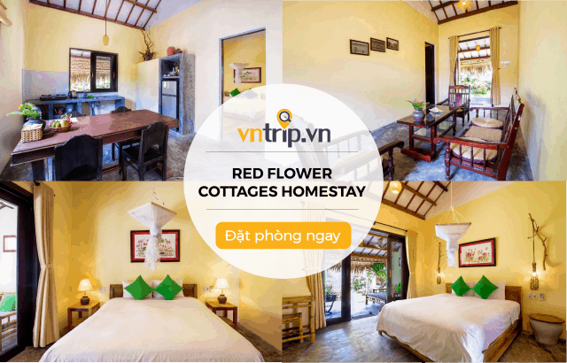 Red Flower Cottages Homestay ở Hội An