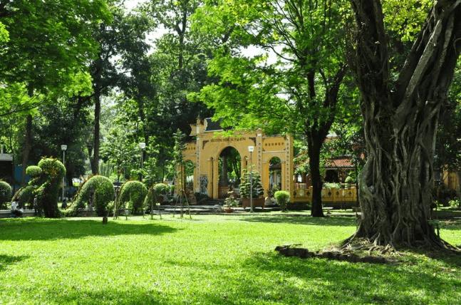Công viên Tao Đàn có từ thời Pháp thuộc
