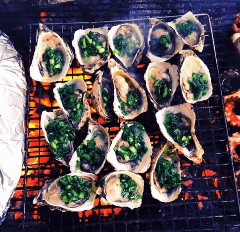 Món ngon tại chợ hải sản Xóm Lưới