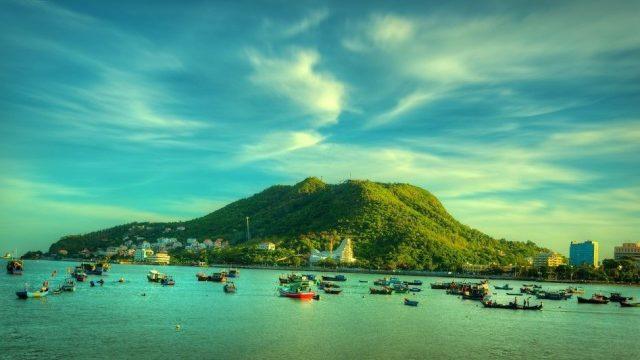 Bãi Dâu Vũng Tàu thơ mộng - một địa điểm du lịch Vũng Tàu nổi tiếng