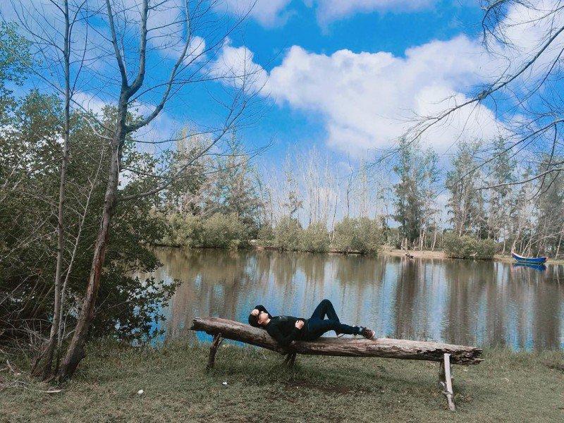 Nằm chợp mắt giữa rừng cây cũng là một gợi ý lý tưởng cho du khách (Ảnh sưu tầm)