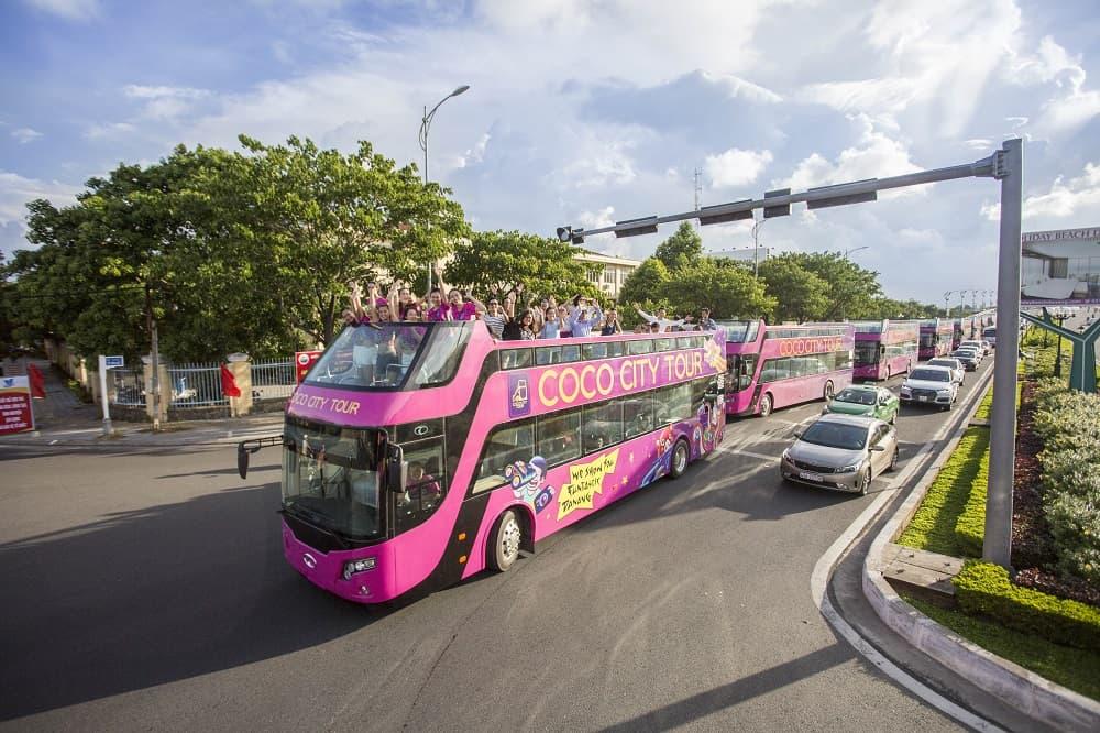 Loại hình di chuyển mới Coco bus Đà Nẵng