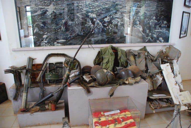 Di vật của các chiến sĩ được lưu giữ tại thành cổ Quảng Trị
