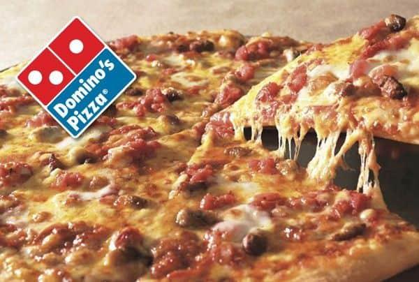 Domino pizza nổi tiếng (Ảnh: ST)