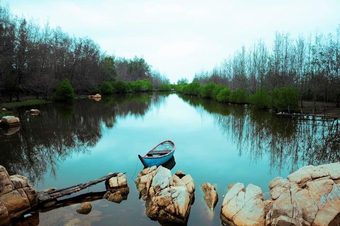 Nét đẹp hoang sơ của khu Hồ Cốc (Ảnh sưu tầm)