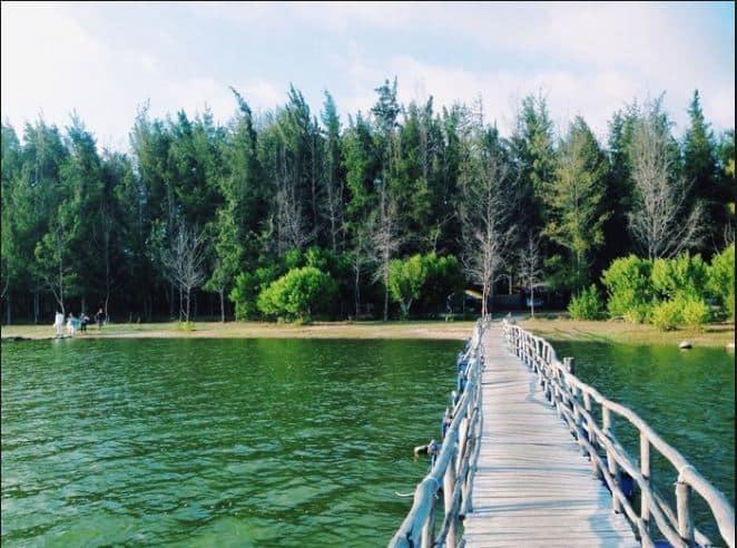 Du lịch bụi Hồ Cốc - Một địa điểm du lịch Vũng Tàu đẹp