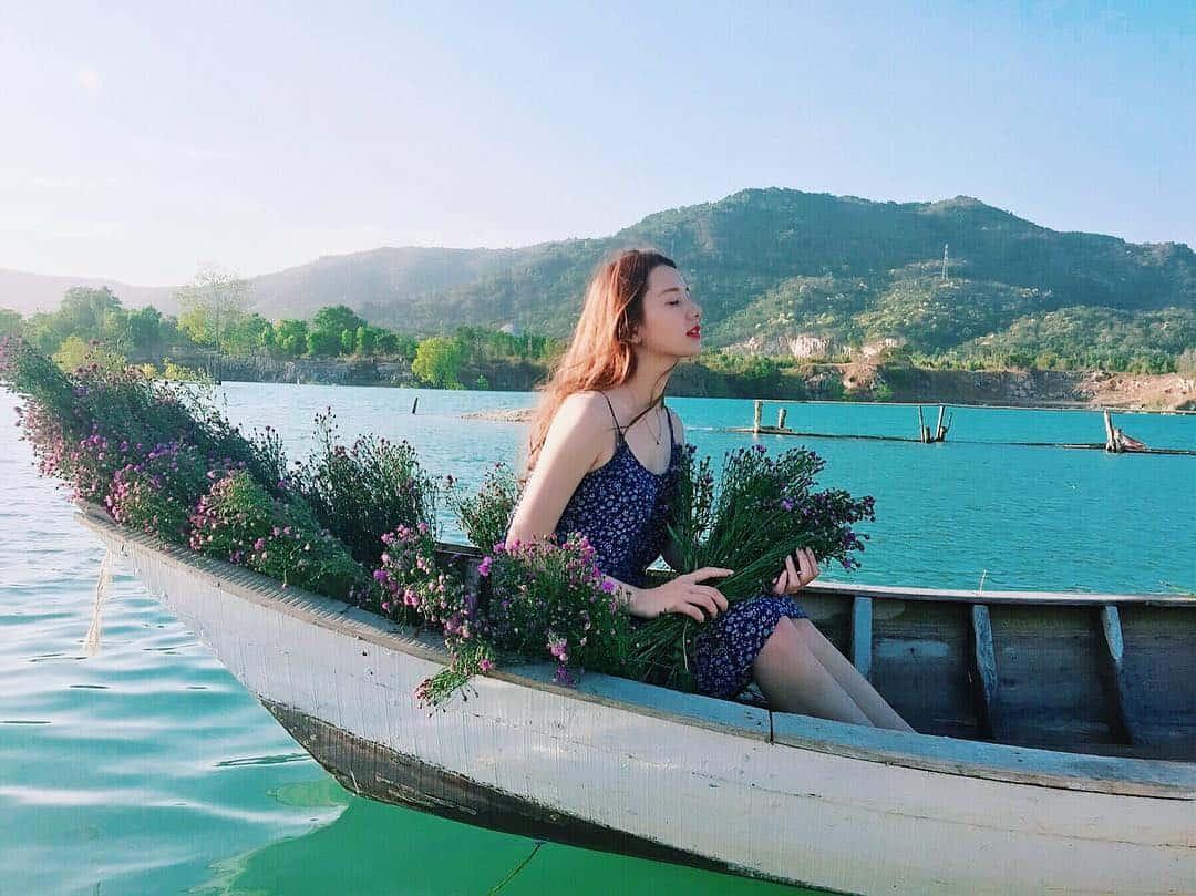 """Hồ Đá Xanh ở Vũng Tàu có rất nhiều địa điểm check-in cực """"hot"""" (Ảnh: ST)"""