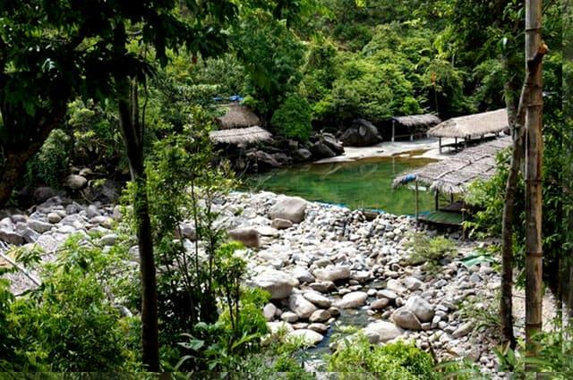 Không gian chốn thôn dã ven suối - Thiền viện Trúc Lâm Bạch Mã