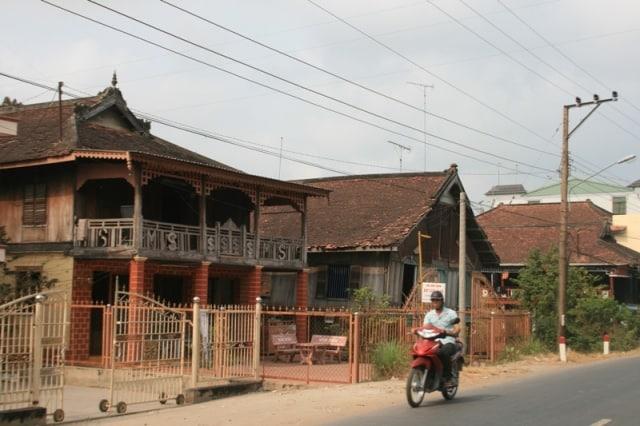 Làng người Chăm Châu Giang (ảnh sưu tầm)