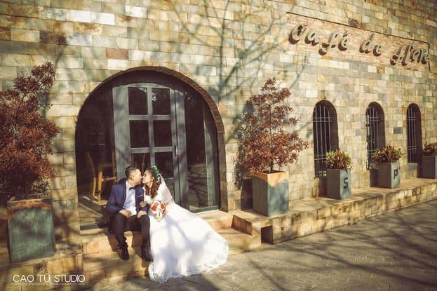 Điểm chụp ảnh cưới tại lâu đài quận 9 của các cặp đôi (Ảnh: ST)