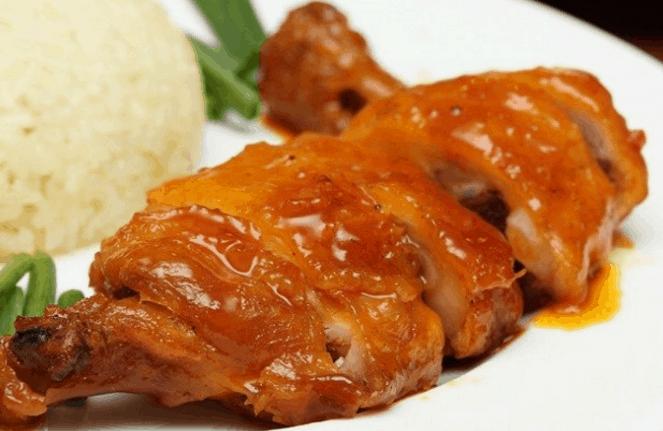 Món cơm gà thơm lừng