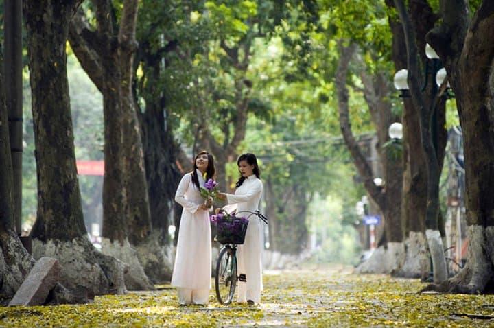 mùa thu ở Hà Nội