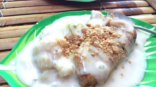 Trộn với nước cốt dừa ăn vô cùng béo ngọt (Ảnh: ST)