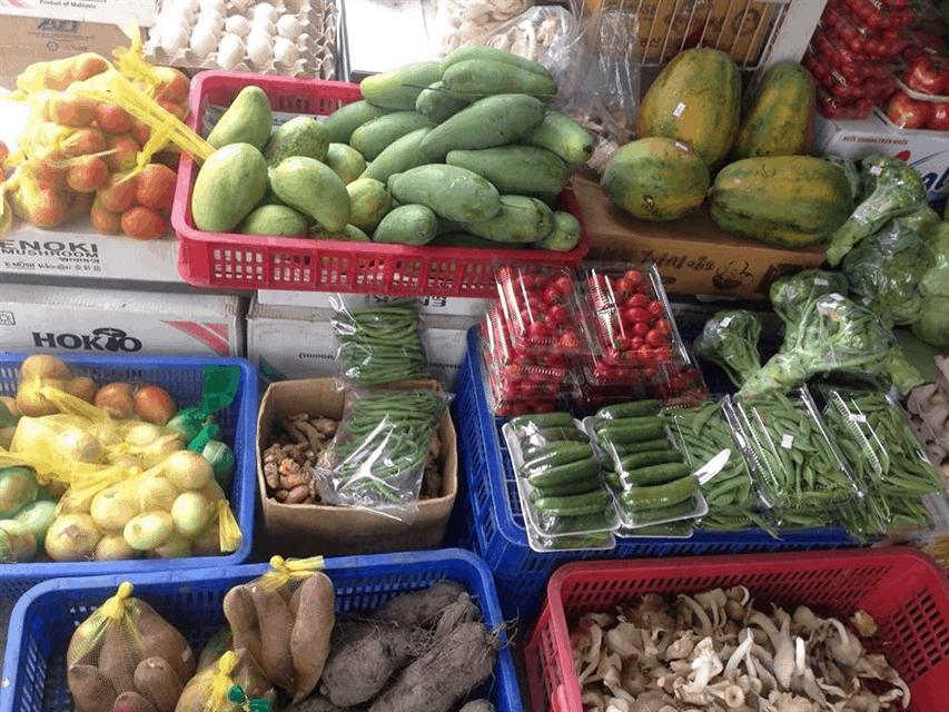 Các thực phẩm sạch của Nông Trang Xanh (Ảnh: Sưu tầm)