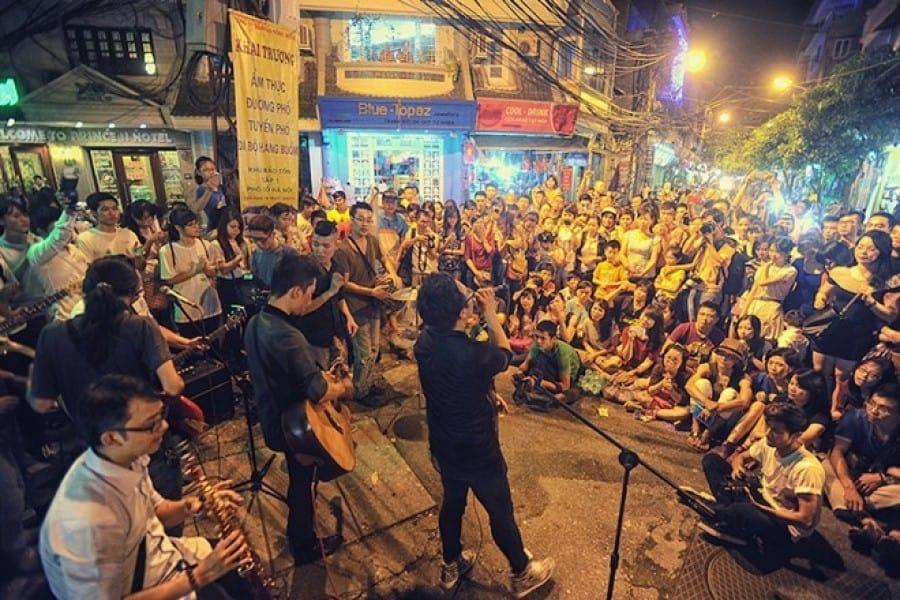 Ca nhạc nghệ thuật đường phố