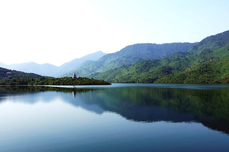 Cảnh đẹp thiên nhiên quanh - Thiền Viện Trúc Lâm Bạch Mã