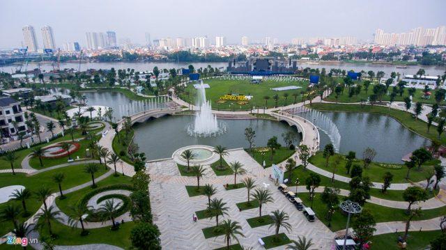 Công viên đẹp mộng mơ bên dòng sông Sài Gòn
