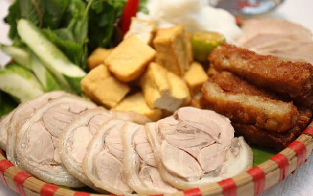 Bún đậu mắm tôm Hà Nội - đã ăn là nghiện