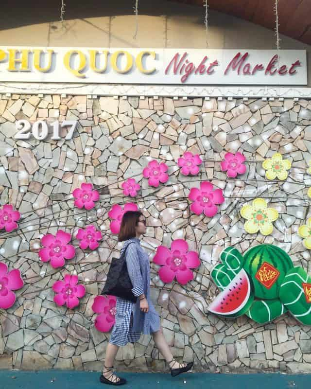 Điểm check-in tuyệt vời tại chợ đêm Phú Quốc