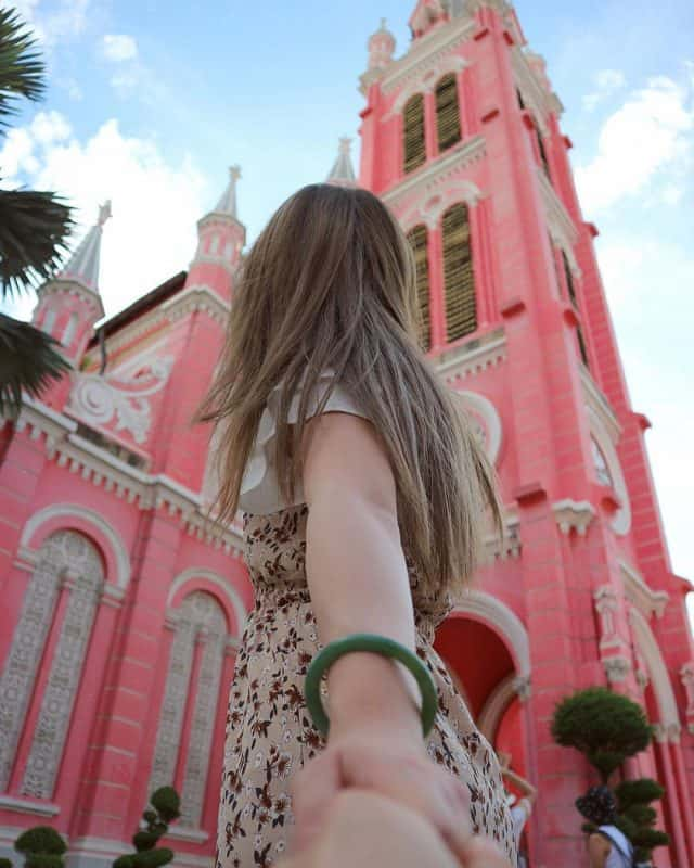 Check-in những bức ảnh tuyệt đẹp khi đến Nhà Thờ Tân Định