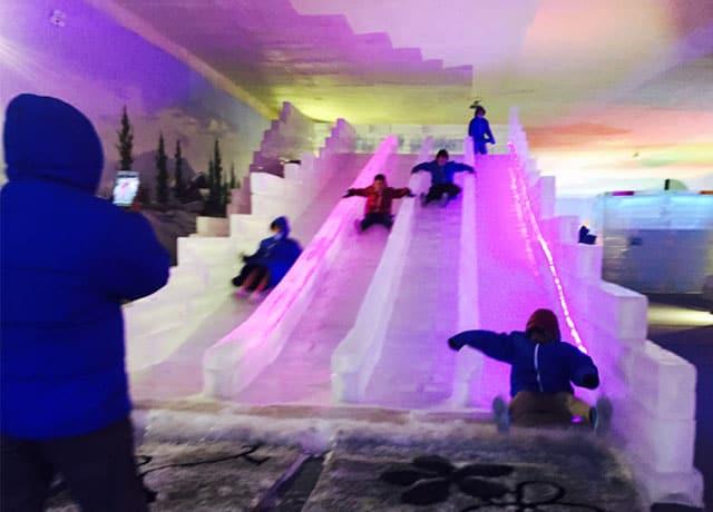 Sân trượt tuyết