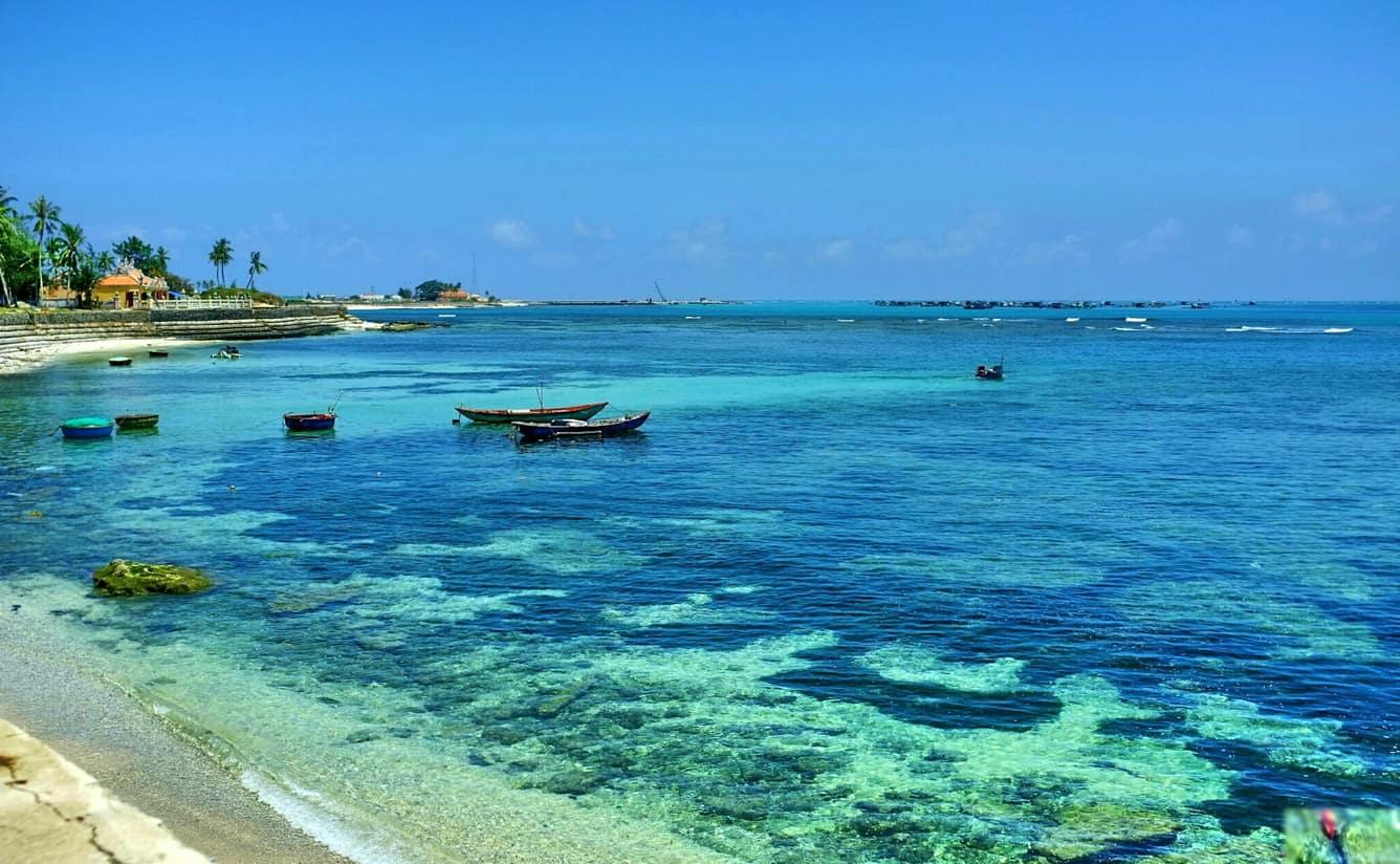 Vẻ thơ mộng và dịu dàng bên bờ biển Khe Hai. (Ảnh ST)