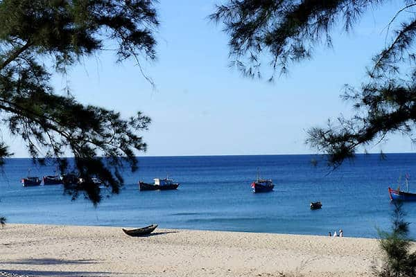 Biển Bảo Ninh bãi biển bình yên và nhẹ nhàng