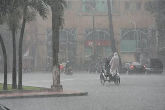 Những cơn mưa rào ở Sài Gòn (Ảnh ST)