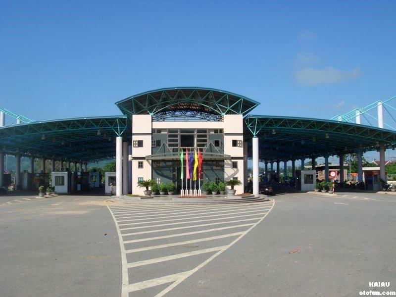 Cửa khẩu Lao Bảo - Hệ thống máy soi container hiện đại
