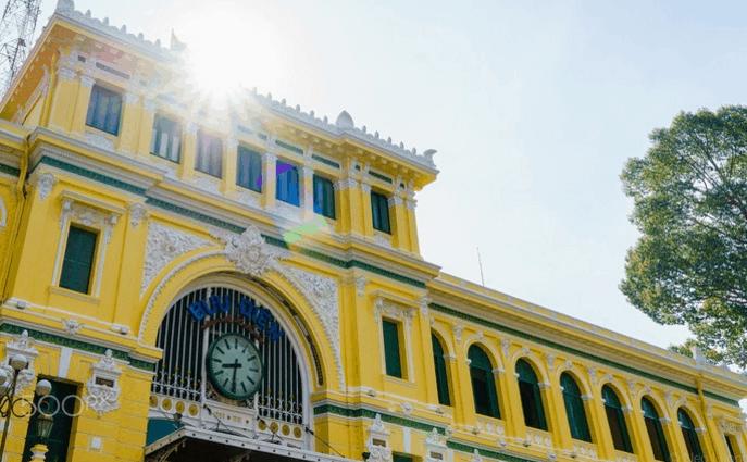 Nắng đẹp ở Sài Gòn (Ảnh ST)