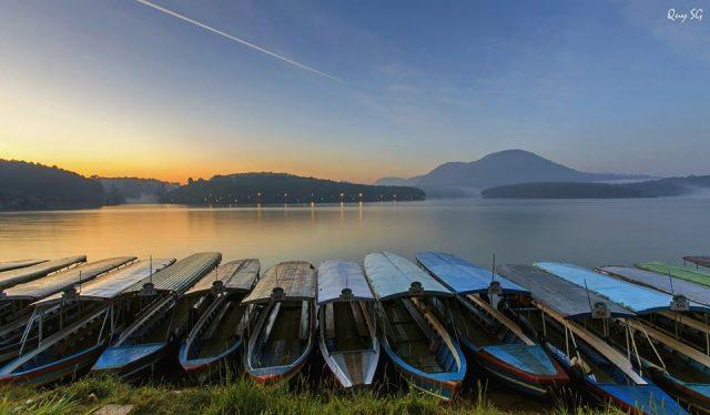 Buổi chiều ở Hồ Nam Phương Bảo Lộc