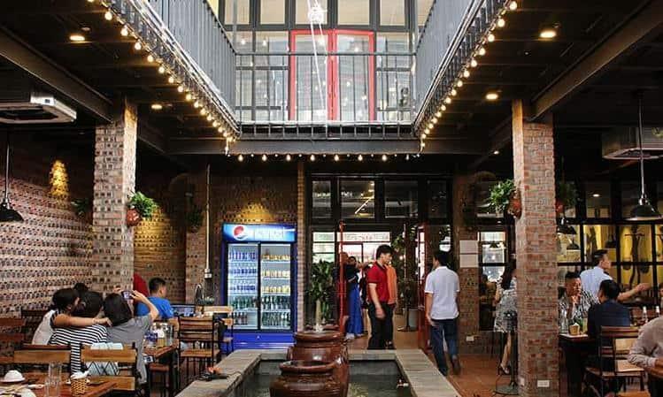 Không gian nhà hàng Góc Hà Nội