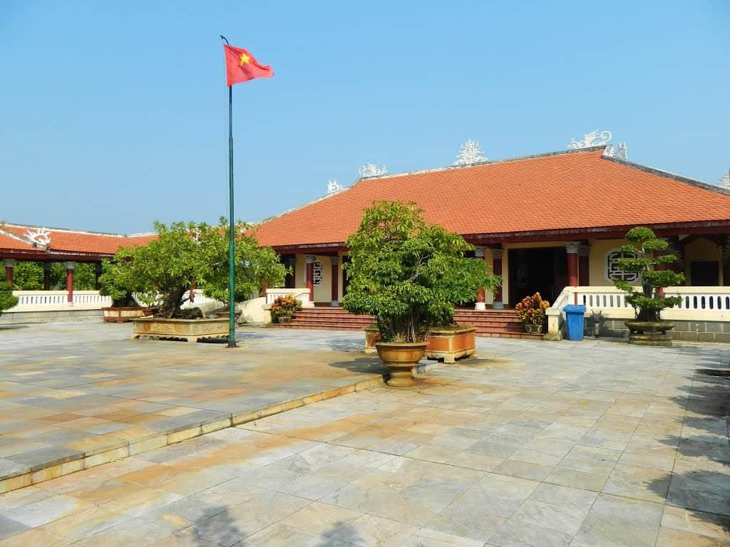 Ảnh chụp toàn cảnh Khu lưu niệm cố Thủ tướng Phạm Văn Đồng. (Ảnh ST)