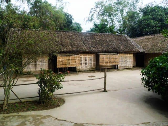 Ngôi nhà Bác tại Làng Sen