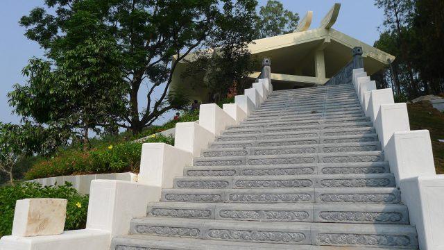 Phần mộ của cụ bà Hoàng Thị Loan