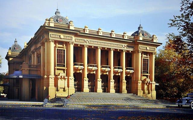 Nhà hát lớn Hà Nội ngày xưa