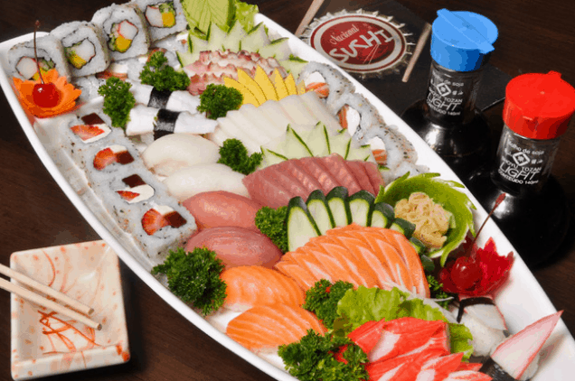 Món sashimi (Ảnh ST)