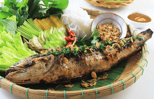 Cá lóc nướng trui (Ảnh ST)