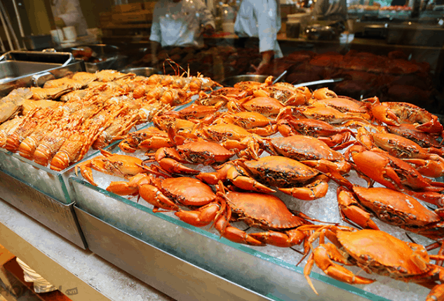 Hải sản trong nhà hàng (Ảnh ST)