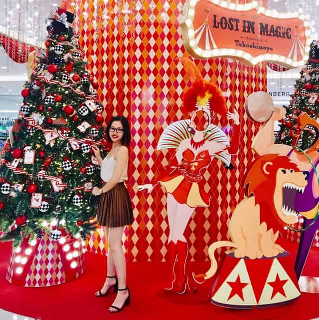 Takashimaya - Địa điểm check-in Noel tuyệt đẹp tại Sài Gòn