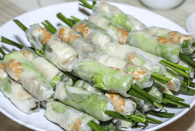 Đồ ăn trong nhà hàng Tân Hoa Cau (Ảnh ST)