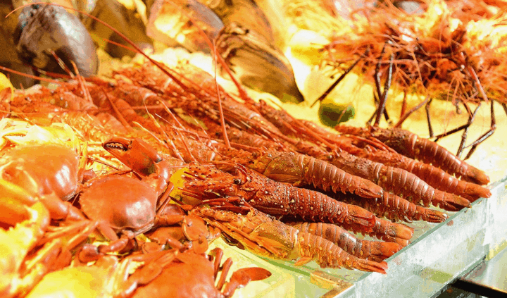 Buffet hải sản (Ảnh ST)