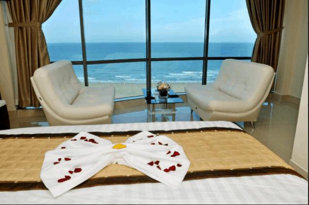 Phòng ngủ hướng biển của khách sạn